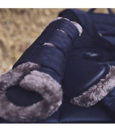Beenbeschermers classic sports 2021 classic mesh faux fur - Eskadron