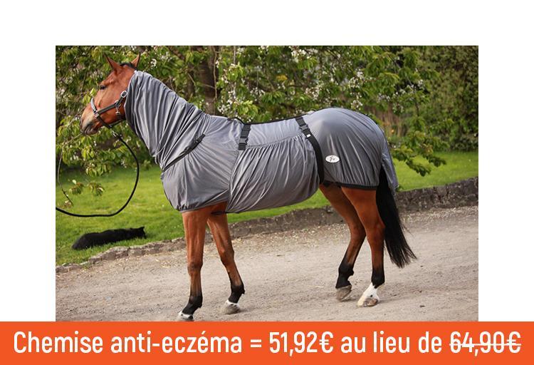Grijs Eczeemdeken by JMR voor paarden